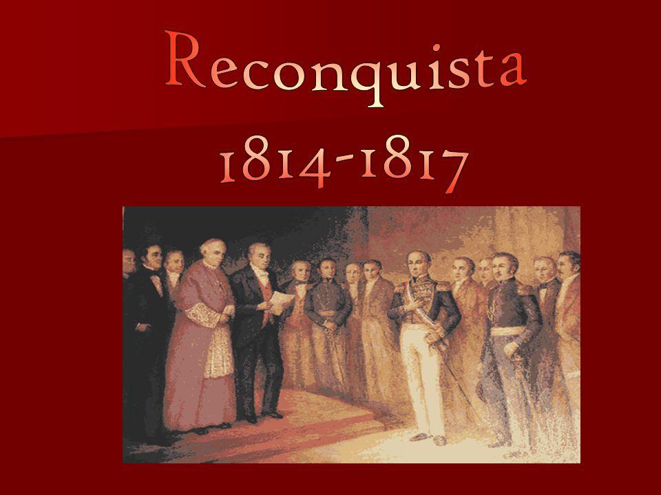 Reconquista 1814-1817