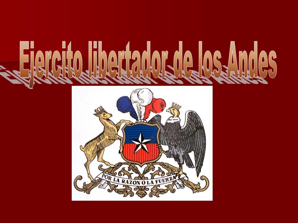 Ejercito libertador de los Andes