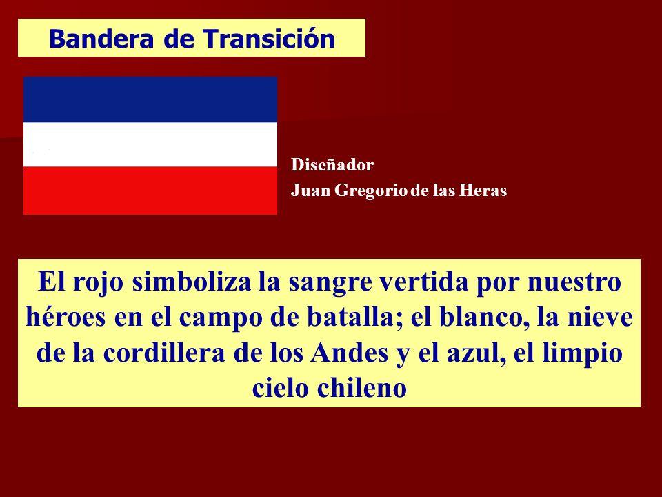 Bandera de Transición Diseñador. Juan Gregorio de las Heras.