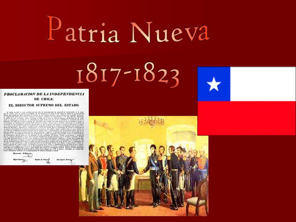 Patria Nueva 1817-1823