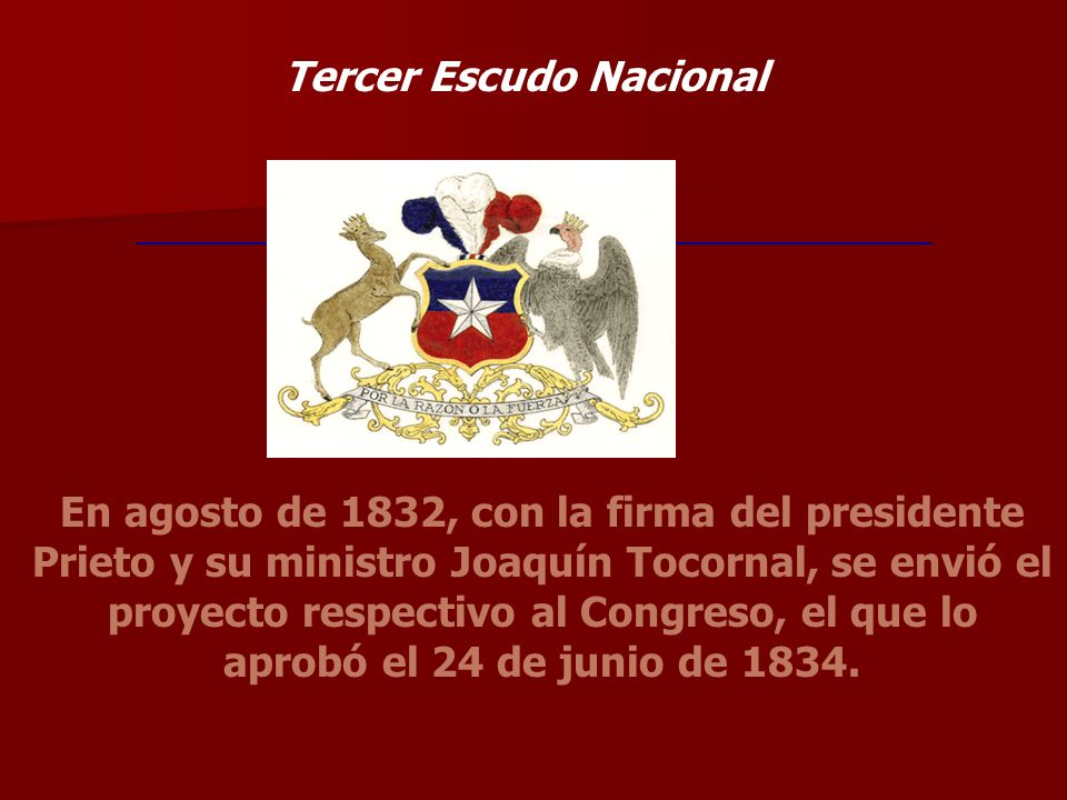 Tercer Escudo Nacional