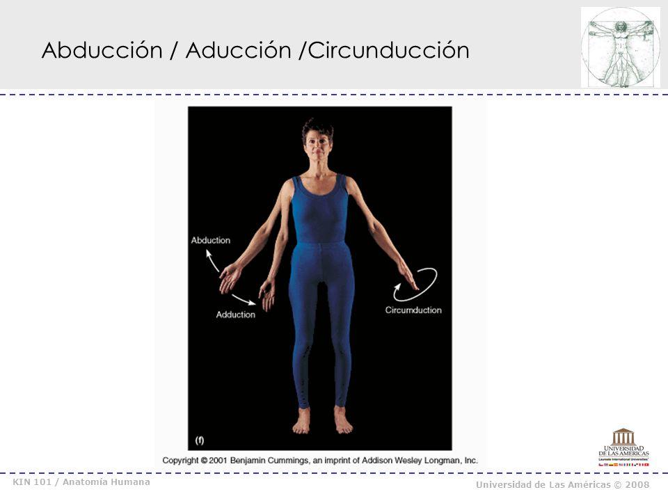 Abducción / Aducción /Circunducción