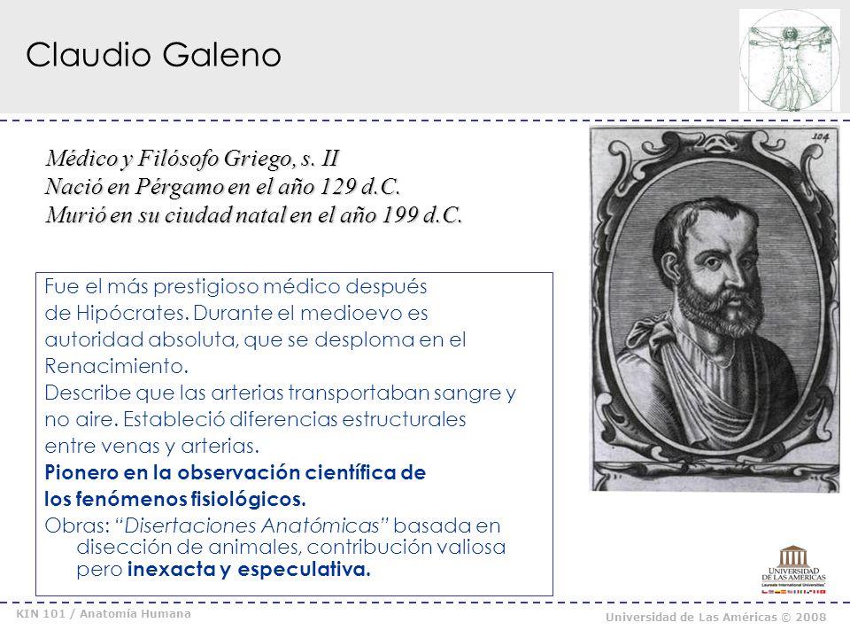 Claudio Galeno Médico y Filósofo Griego, s. II