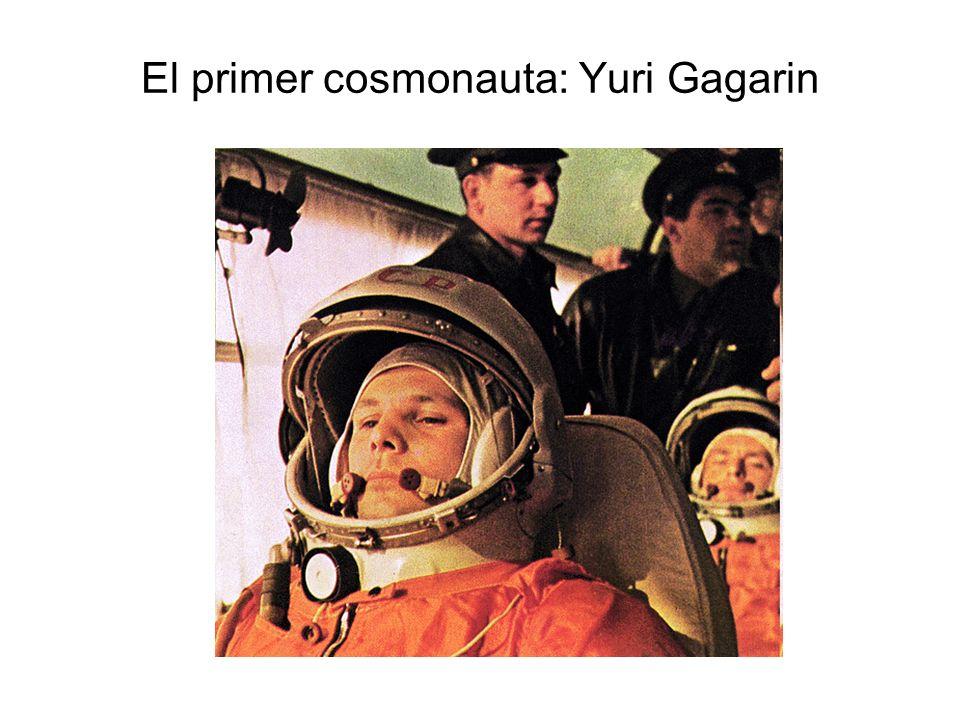 El primer cosmonauta: Yuri Gagarin