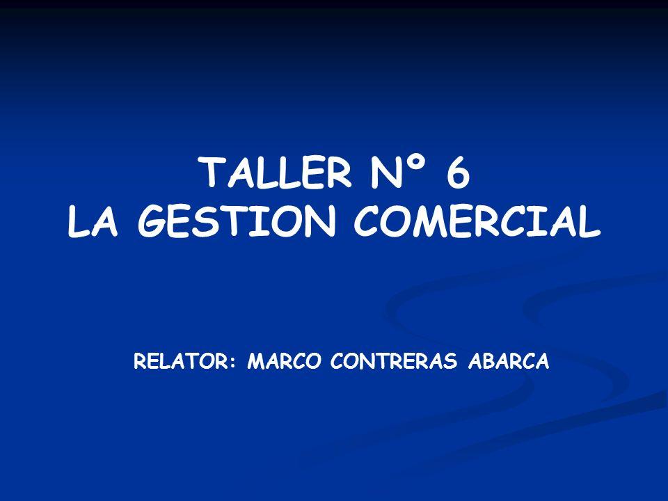 TALLER Nº 6 LA GESTION COMERCIAL