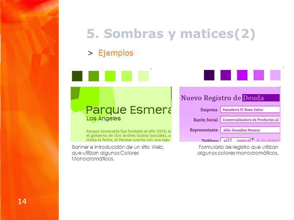 5. Sombras y matices(2) Ejemplos 14