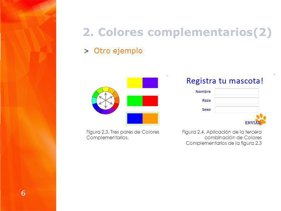 2. Colores complementarios(2)