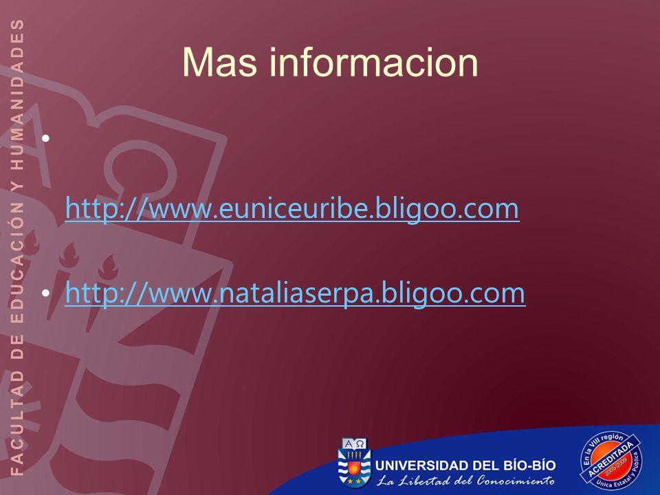 Mas informacion http://www.euniceuribe.bligoo.com
