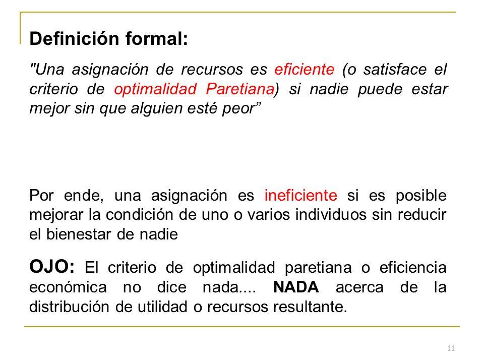 Definición formal: