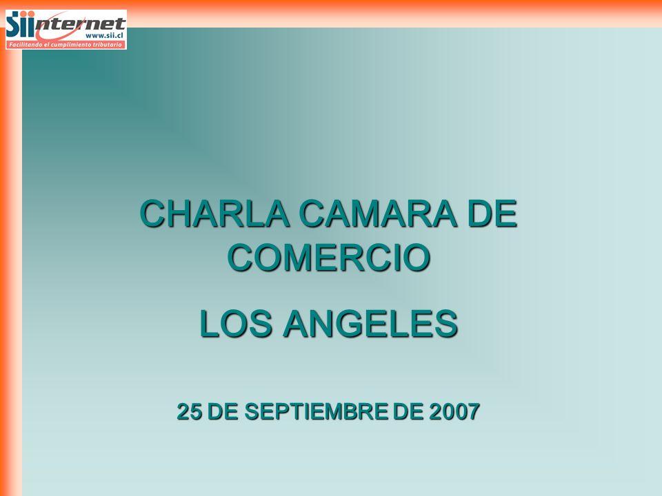 CHARLA CAMARA DE COMERCIO