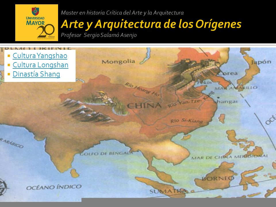 Cultura Yangshao Cultura Longshan Dinastía Shang