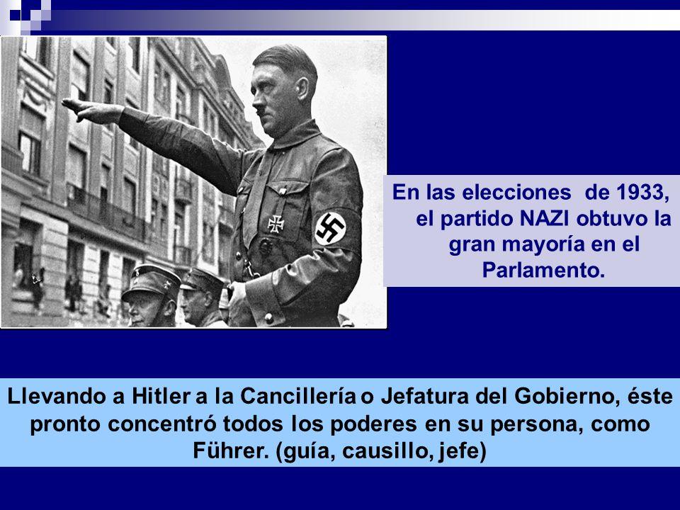 Hitler fue nombrado canciller