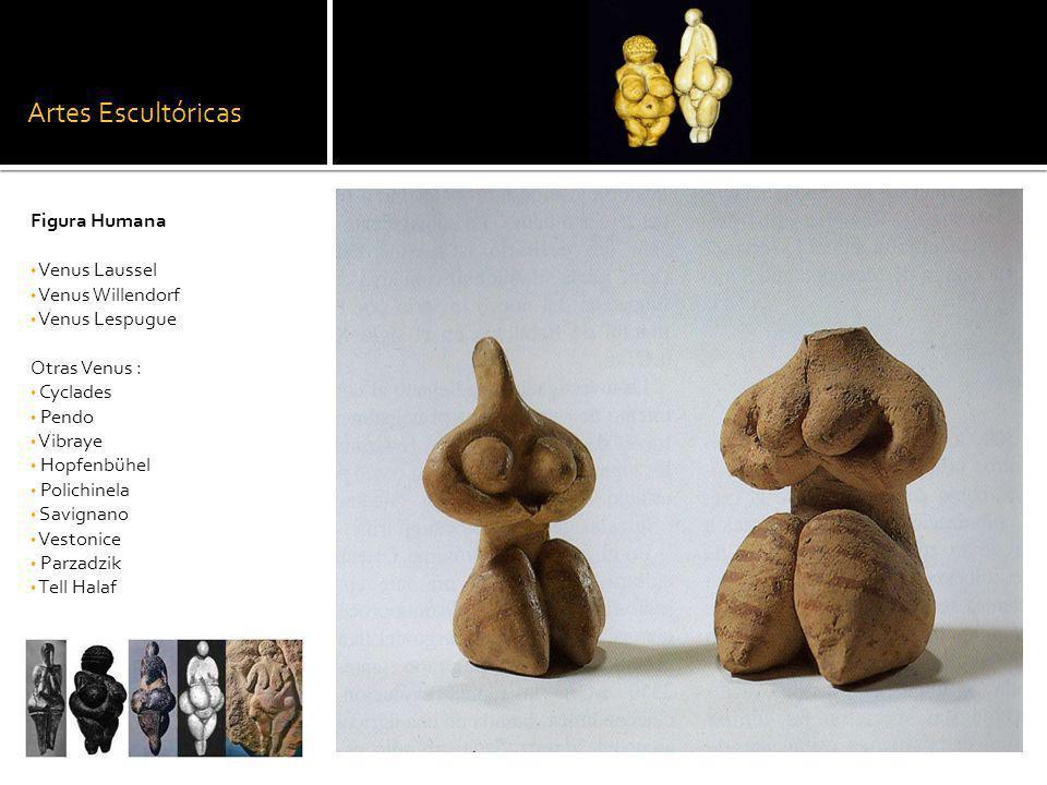 Artes Escultóricas Figura Humana Venus Laussel Venus Willendorf