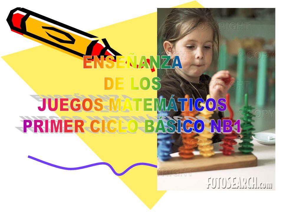 ENSEÑANZA DE LOS JUEGOS MATEMÁTICOS PRIMER CICLO BÁSICO NB1