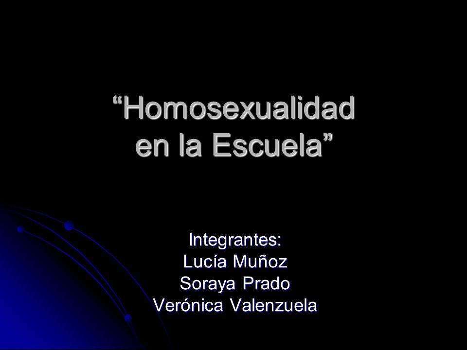 Homosexualidad en la Escuela