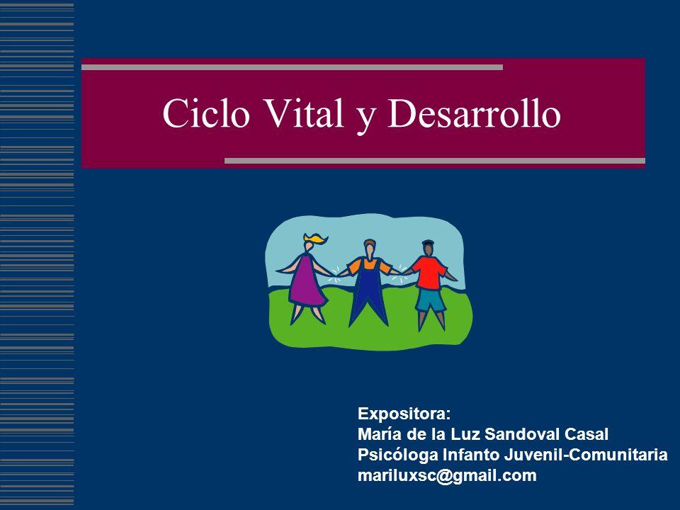 Ciclo Vital y Desarrollo