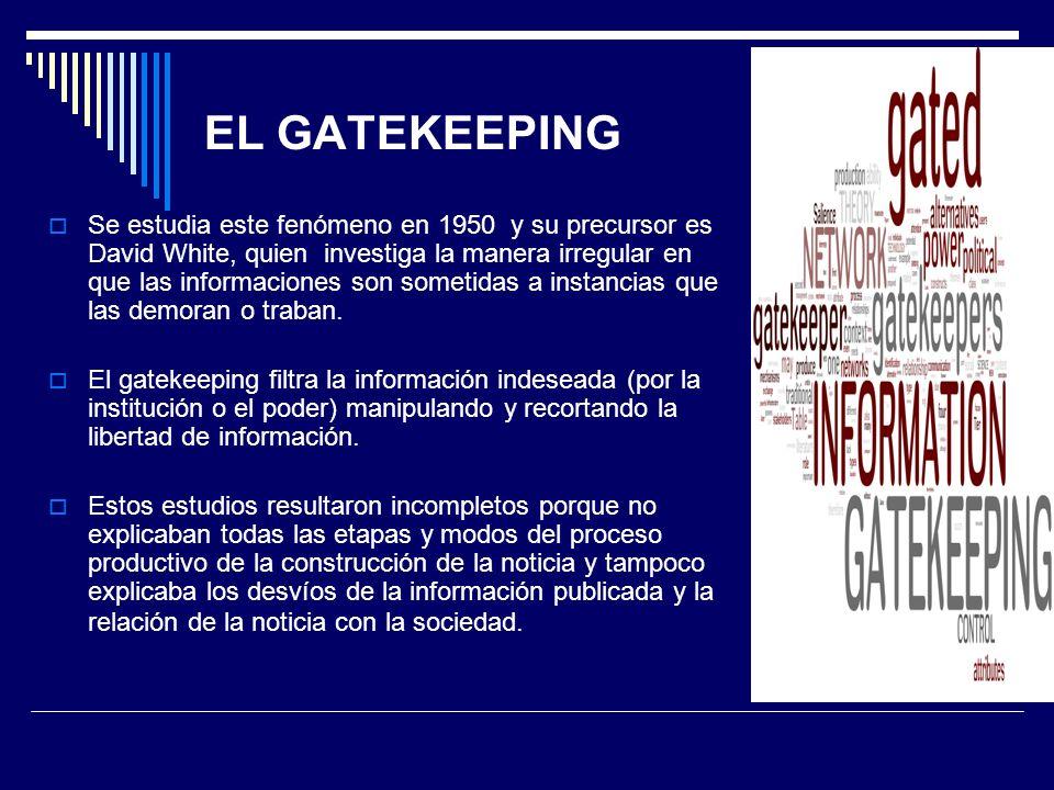 EL GATEKEEPING