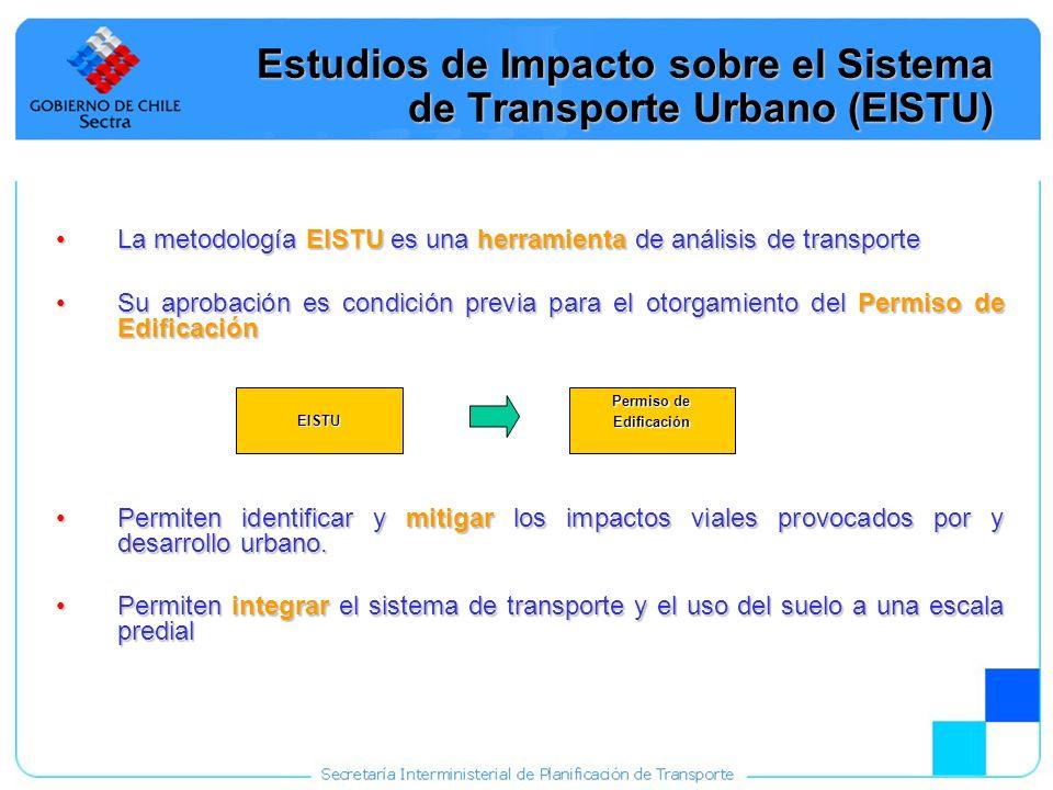 Estudios de Impacto sobre el Sistema de Transporte Urbano (EISTU)