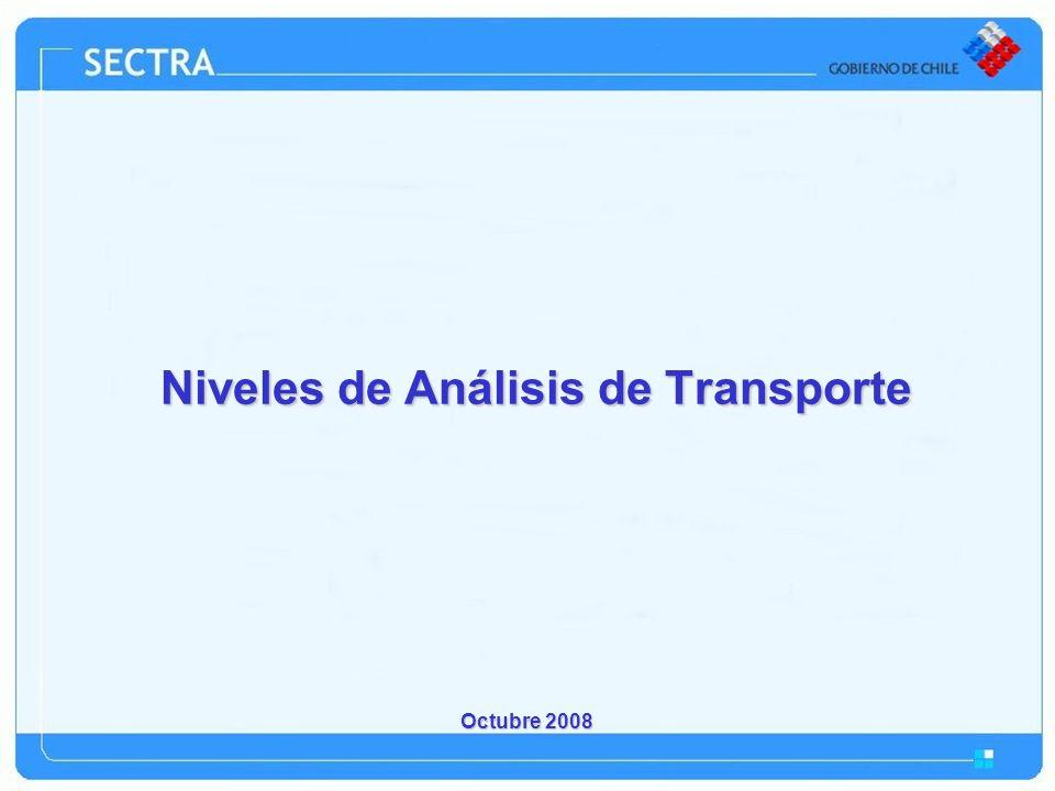 Niveles de Análisis de Transporte