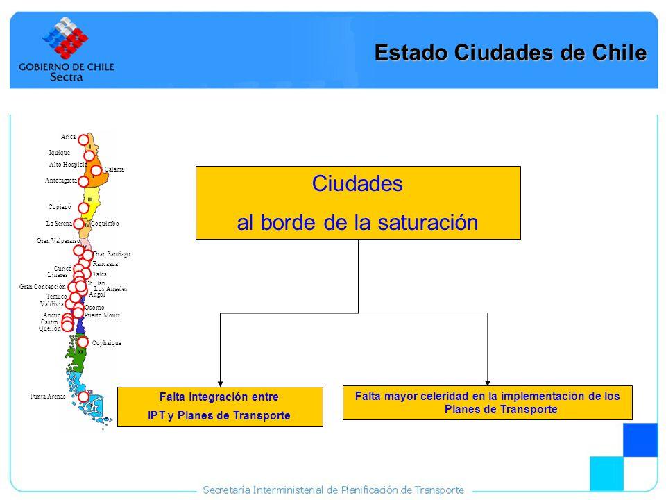 Estado Ciudades de Chile