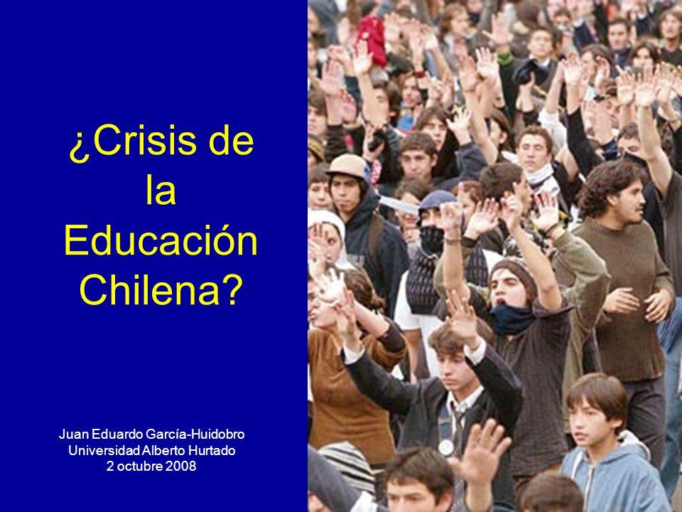 ¿Crisis de la Educación Chilena