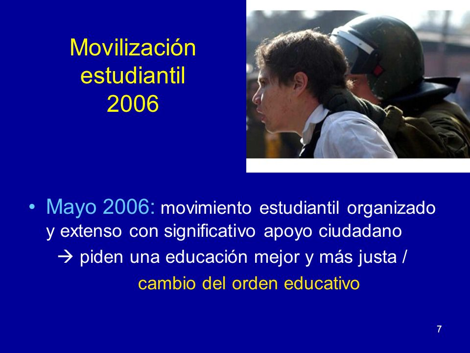 Movilización estudiantil 2006