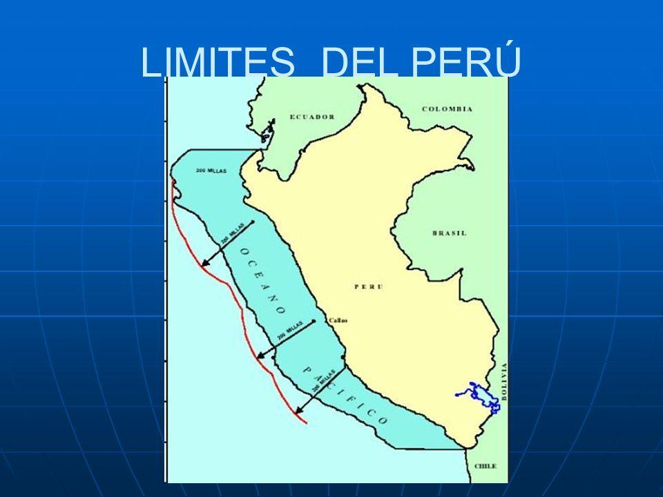 LIMITES DEL PERÚ.