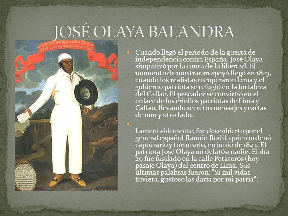 JOSÉ OLAYA BALANDRA