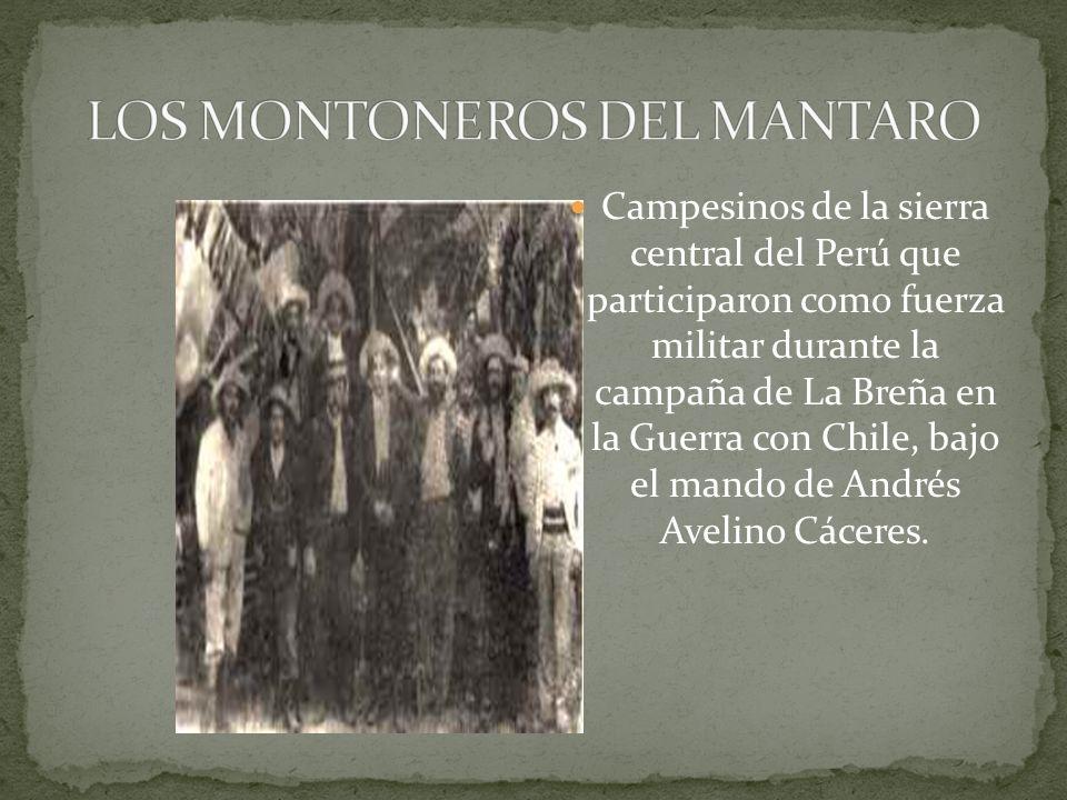 LOS MONTONEROS DEL MANTARO