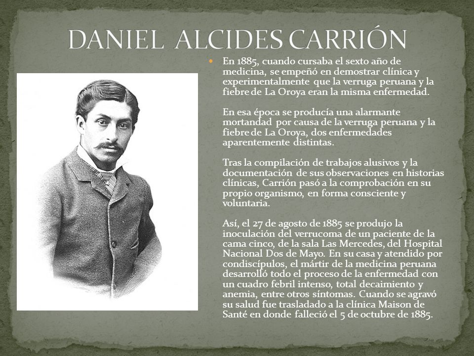 DANIEL ALCIDES CARRIÓN