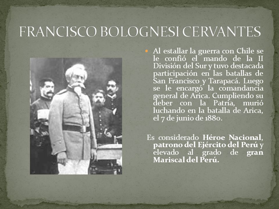 FRANCISCO BOLOGNESI CERVANTES