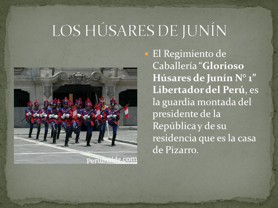 LOS HÚSARES DE JUNÍN