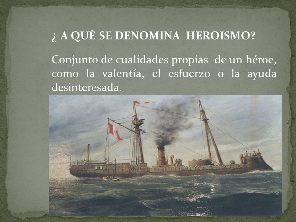 ¿ A QUÉ SE DENOMINA HEROISMO