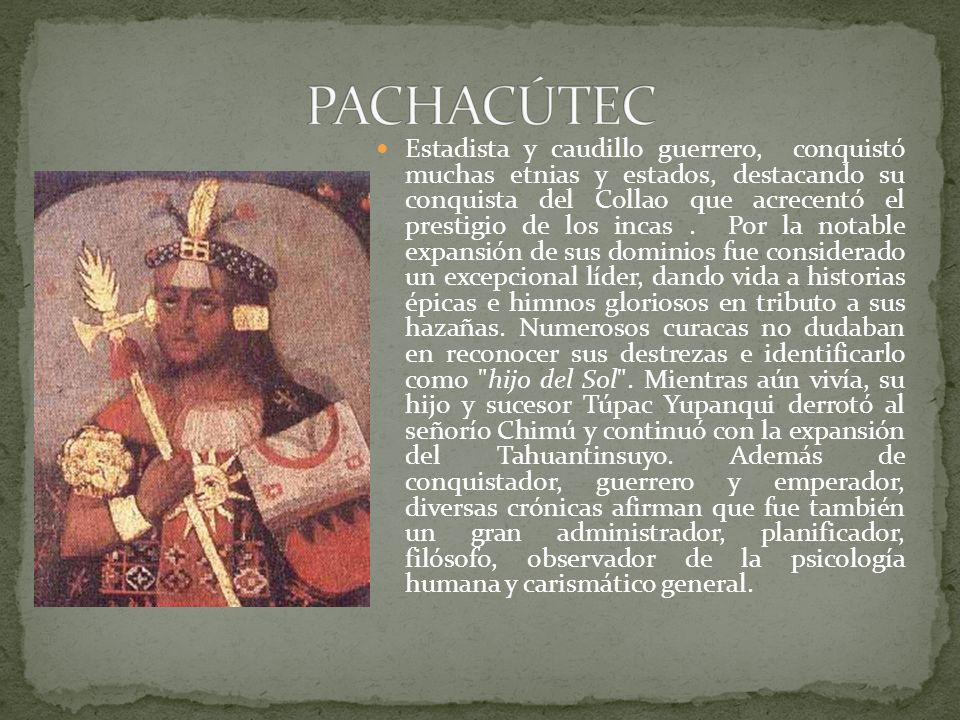 PACHACÚTEC