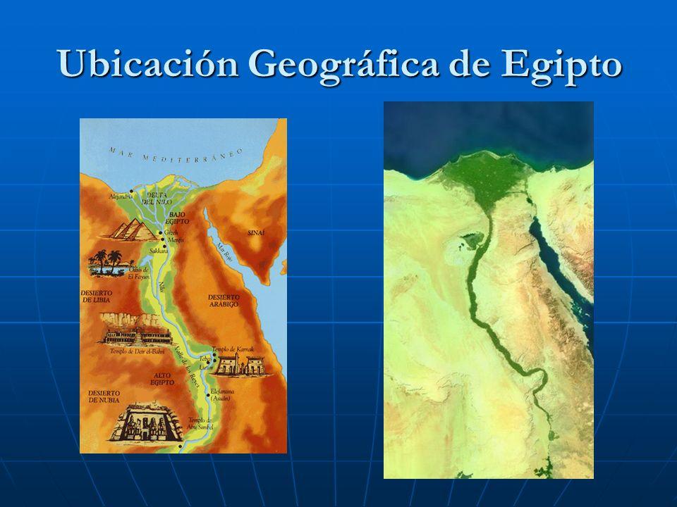 Ubicación Geográfica de Egipto