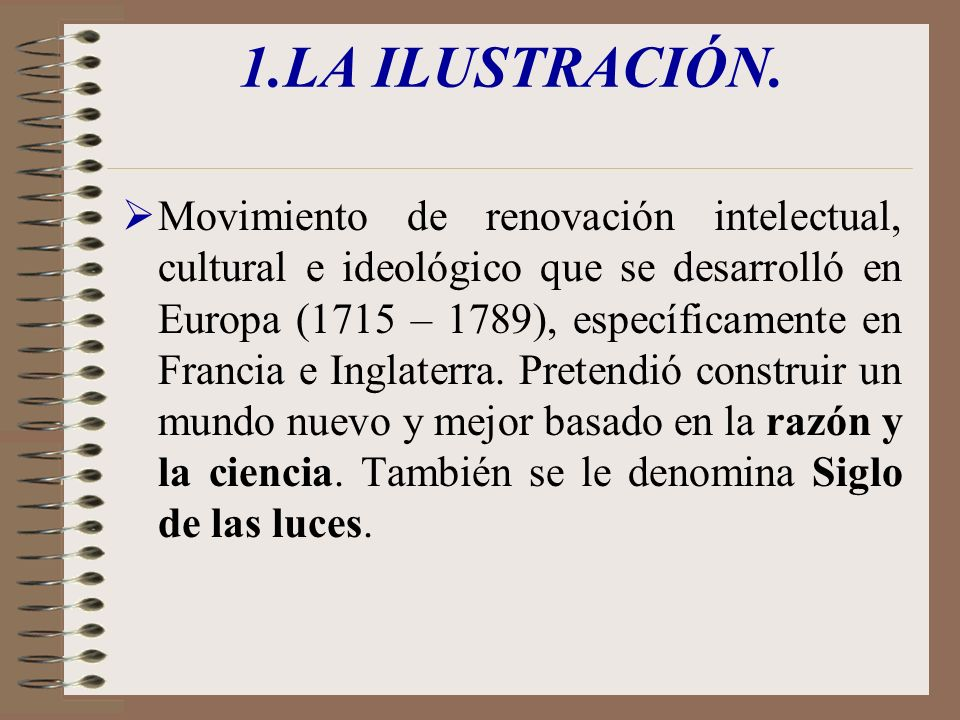 1.LA ILUSTRACIÓN.