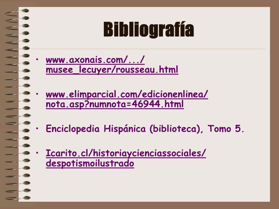 Bibliografía www.axonais.com/.../ musee_lecuyer/rousseau.html