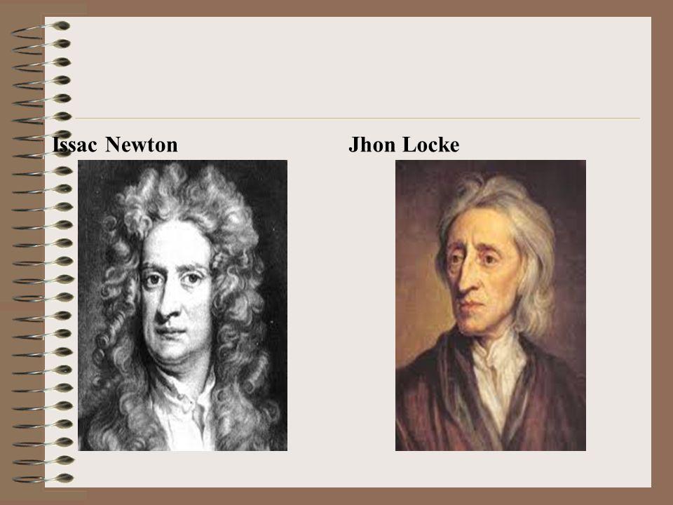 Issac Newton Jhon Locke