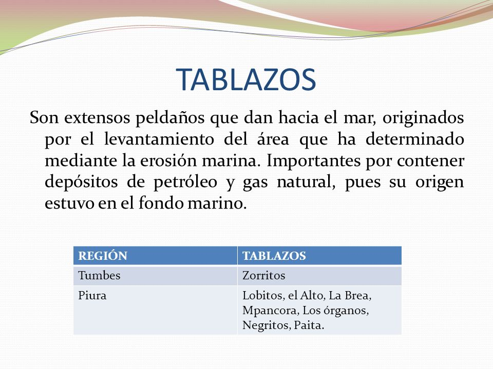 TABLAZOS