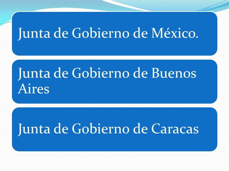 Junta de Gobierno de México.