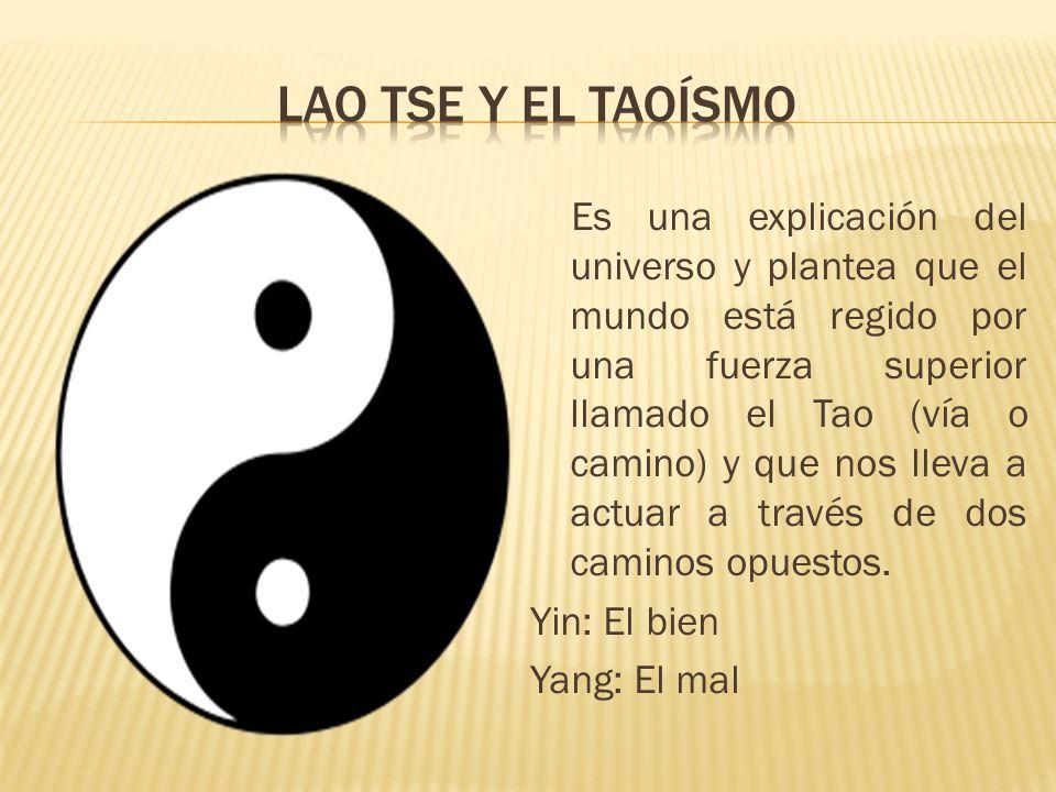 Lao tse y el taoísmo