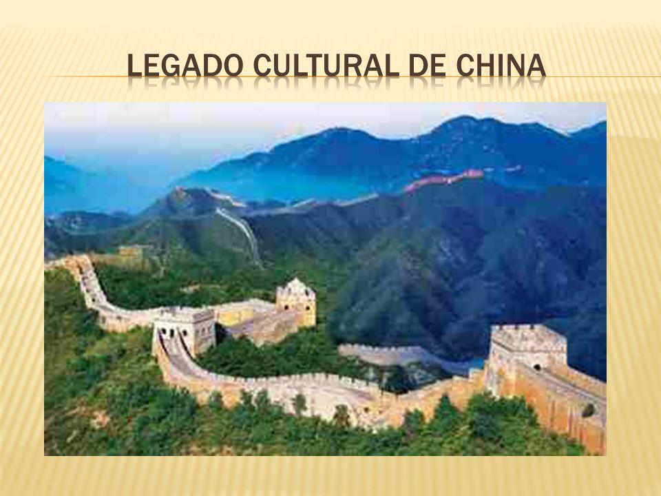 Legado cultural de china