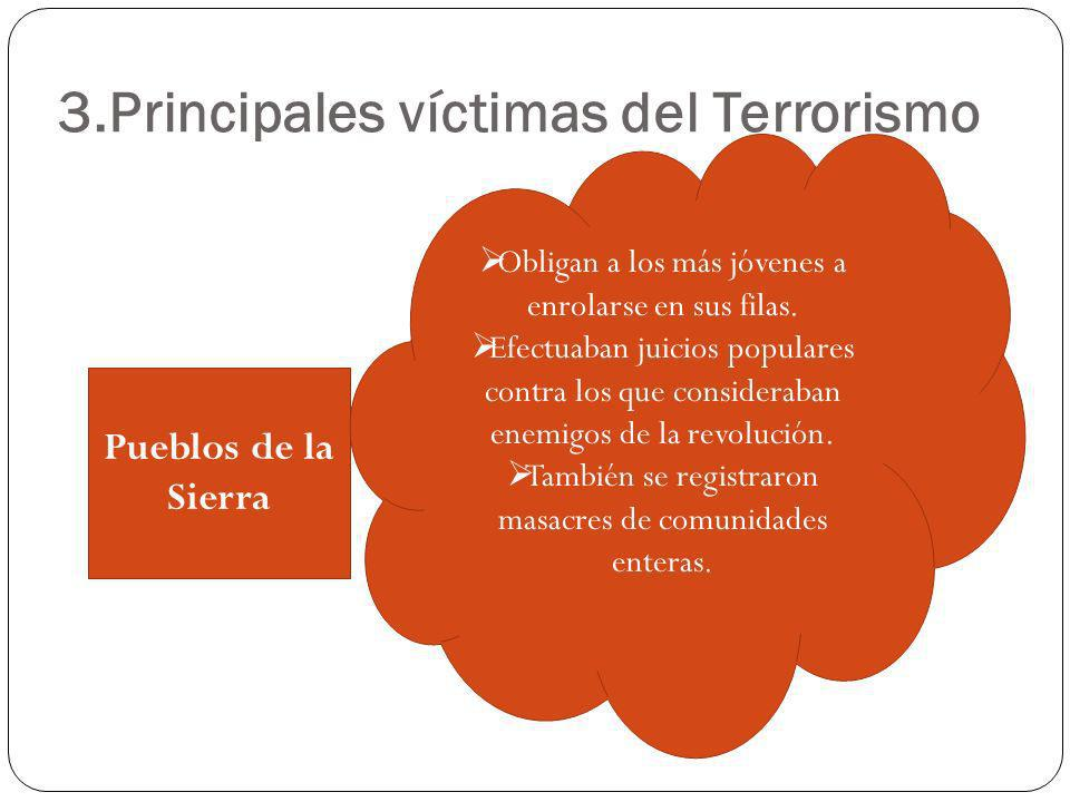 3.Principales víctimas del Terrorismo