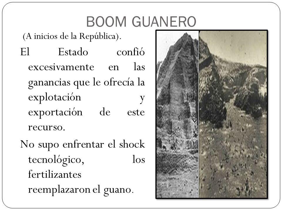 BOOM GUANERO (A inicios de la República).