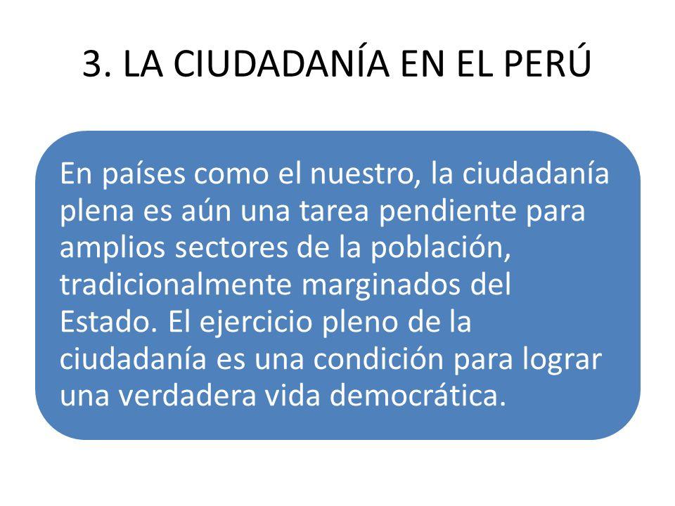3. LA CIUDADANÍA EN EL PERÚ