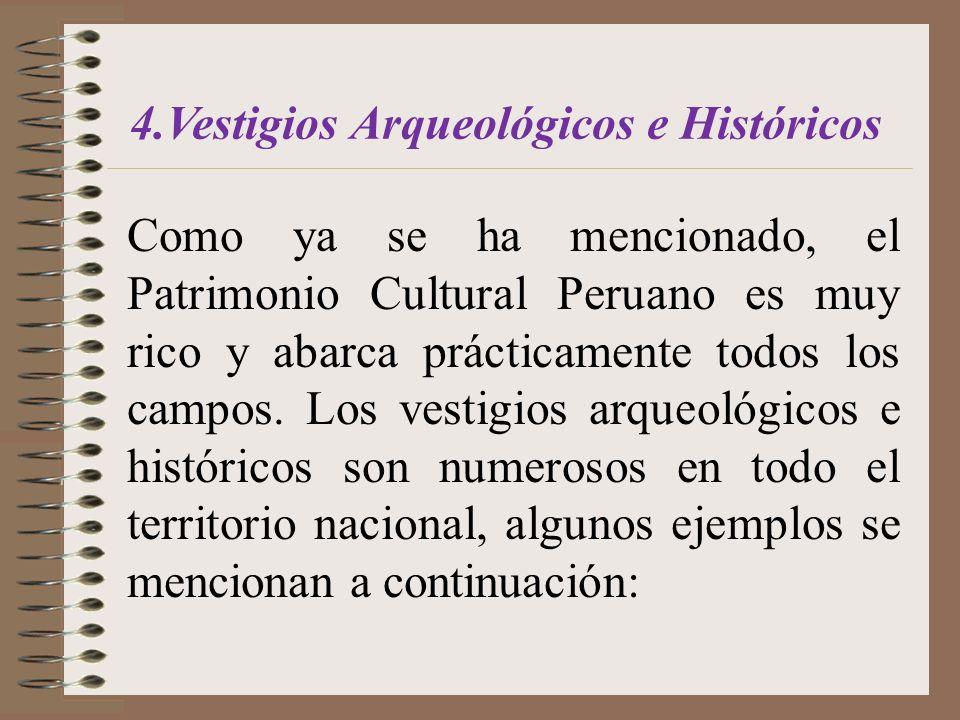 4.Vestigios Arqueológicos e Históricos