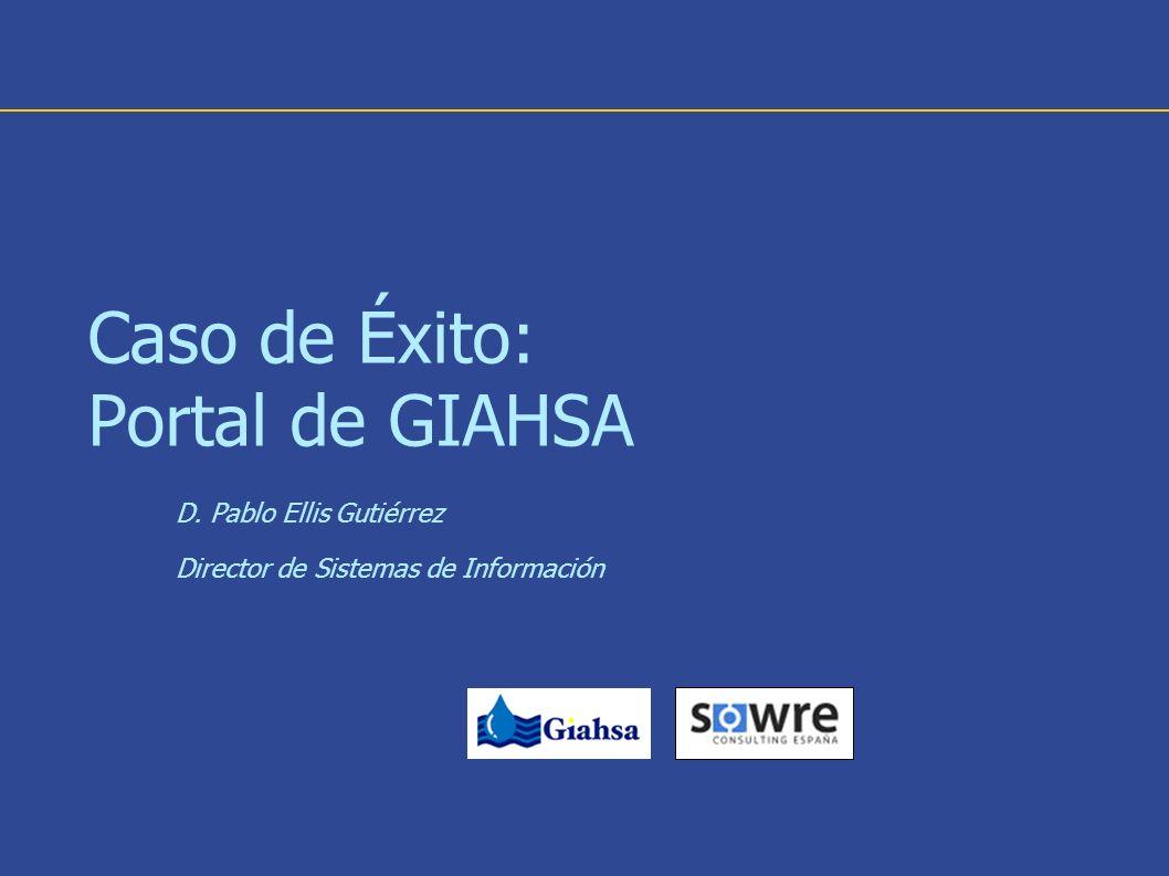 Caso de Éxito: Portal de GIAHSA