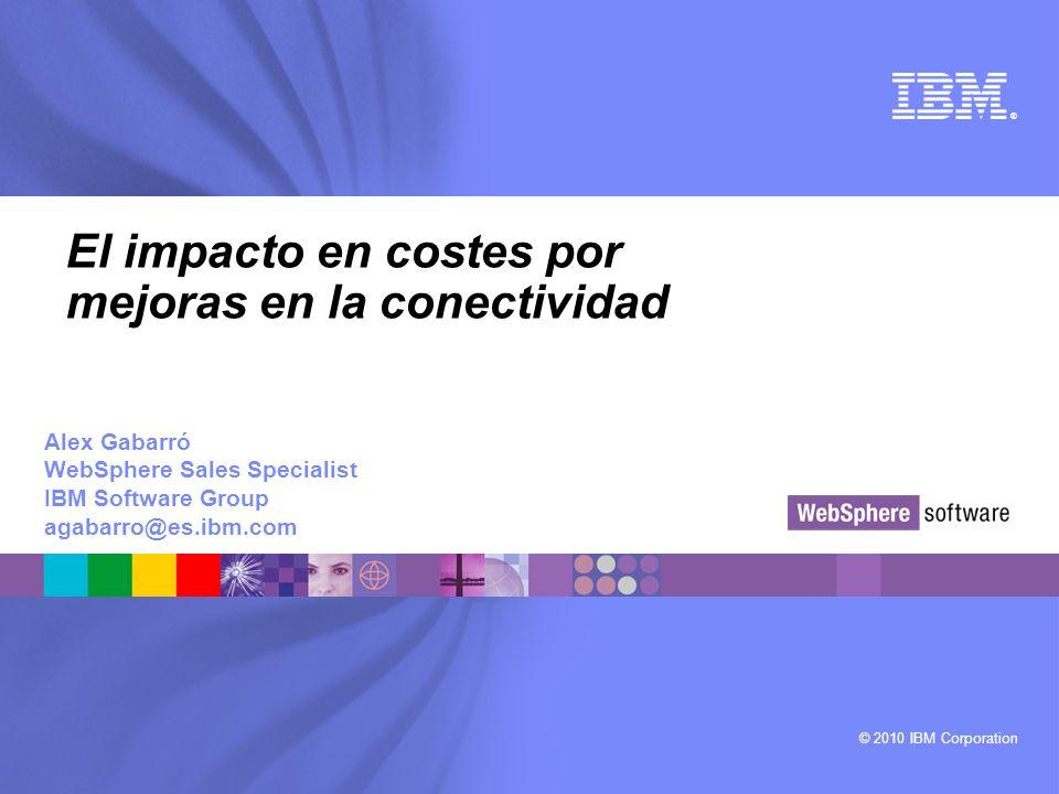 El impacto en costes por mejoras en la conectividad