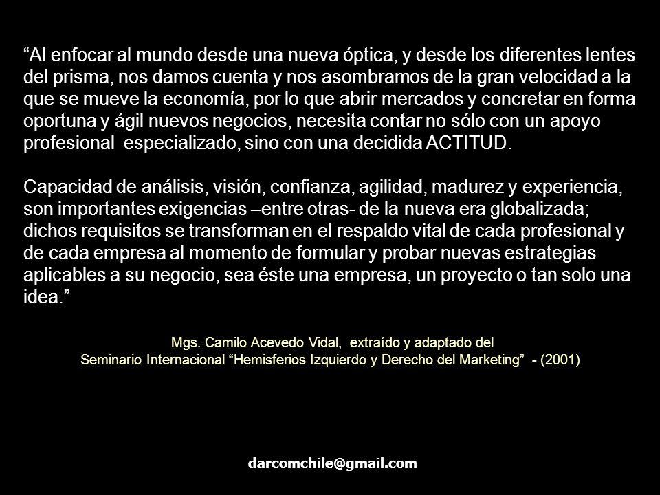 Mgs. Camilo Acevedo Vidal, extraído y adaptado del