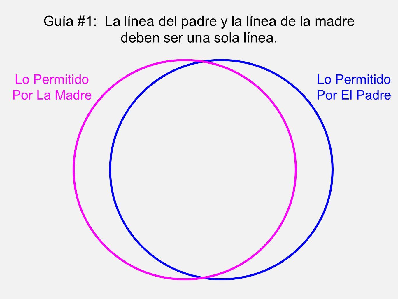 Guía #1: La línea del padre y la línea de la madre